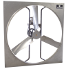 Schaefer Ventilation Equipment Galvanized Steel Panel Fans