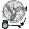 "Airmaster 24"" Direct Drive Mancooler. 115V, 1/4 HP, 1 phase, TEAO, Two speed rocker switch, Tiltable, Handle with cord wrap. 10' cord with three prong plug"