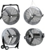 Airmaster 4-IN-1 Fan. All 4 mountings in one box. Vertical Mount, Hanging Mount, Portable Barrel or Wall Mount Air Circulator Fan