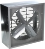 Airmaster CWF Belt Drive Cabinet Fan with Auto Shutters. Fully Assembled for Quick Installation, 115V, 115/230V 1 phase & 230/460V 3 phase, Heavy gauge galvanized steel housing, Aluminum shutters, inlet guard, ball bearing motor