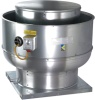 Airmaster Belt Drive Centrifugal Upblast Exhaust Fans - Model CBU. Variable pitch motor pulley allows for field adjustment, Emergency disconnect switch standard, AMCA licensed for sound and air, ETL listed for over cooking and grease laden air
