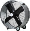 "Airmaster EMC48B 48"" Belt Drive Portable Mancooler Drum Fan. 115V, 1 phase, 1 speed, ODP, 1 HP motor, 12' three conductor SJT type cord and switch"