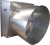 Schaefer Ventilation Equipment Galvanized Cone Fans