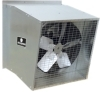 Schaefer Ventilation Equipment Galvanized Slantwall Exhaust Fans