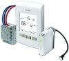 Honeywell EConnect RedLINK wireless thermostat control system for electric heat baseboards, convectors or fan-forced heaters.