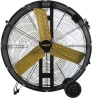 Master High Capacity Direct-Drive Barrel/Drum Fans deliver cooling and circulation for large spaces