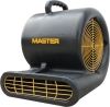 Master MAC-701-DR 1850 CFM Blower/Dryer. Industrial Floor & Carpet Dryer. Concentrated air circulation dries out damp areas