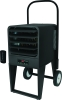 King Electric PKB Platinum Series Smart Electronic Electric Portable Utility Heater, 208, 240/208, 480 Volts, 7.5 KW to 30 KW