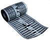 Proline Low-voltage STEP Roof Heat 12, 9, or 3-inch widths of thin, durable polymer heating element can be nailed & stapled through