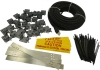 Briskheat SpeedTrace Roof & Gutter Kits: 5 watts/ft. Pre-Assembled Self-Regulating Heating Cable Kits