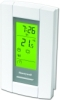 Honeywell TL8130A1005 16.7A SP Digital LineVoltPRO programmable thermostat. Electronic control of 208/240 Vac electric baseboard, convectors & fan forced heaters