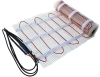Proline TM TileHeat Floor Heating Mat, 120V radiant heat cable that is pre-spaced and affixed to an adhesive-backed fiberglass mesh for roll-out installation