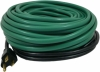 Wrap-On Green Roof & Gutter De-Icing Electric Constant Watt Heating Cable Kits with shingle clips & spacers