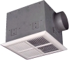 Qmark Marley FRD Series Ventilating Fan with Radiation Damper