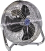 "Qmark I Series - Industrial Floor Air Circulator. 3-speed, 1/15 to 1/8 HP 12"" to 24"" Fan Head"