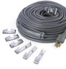 Wrap-On Grey Roof & Gutter De-Icing Electric Constant Watt Heating Cable Kits with shingle clips & spacers